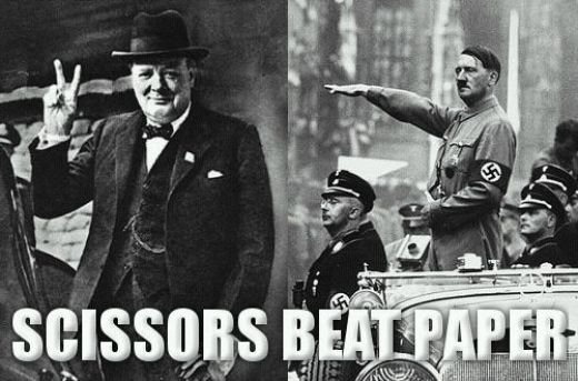 Hitler was nominated for a Nobel Peace prize in 19