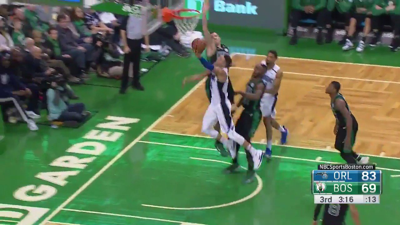 ��REJECTED! ��  Daniel Theis with the block!  #Celtics https://t.co/KKToBemNCC
