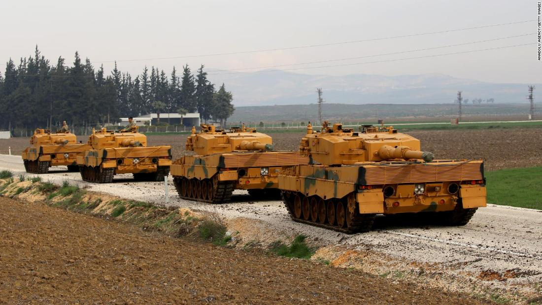 Turkish military enters Syrian province after days of airstrikes https://t.co/H7ofFkttFM https://t.co/x90qnmrk0B