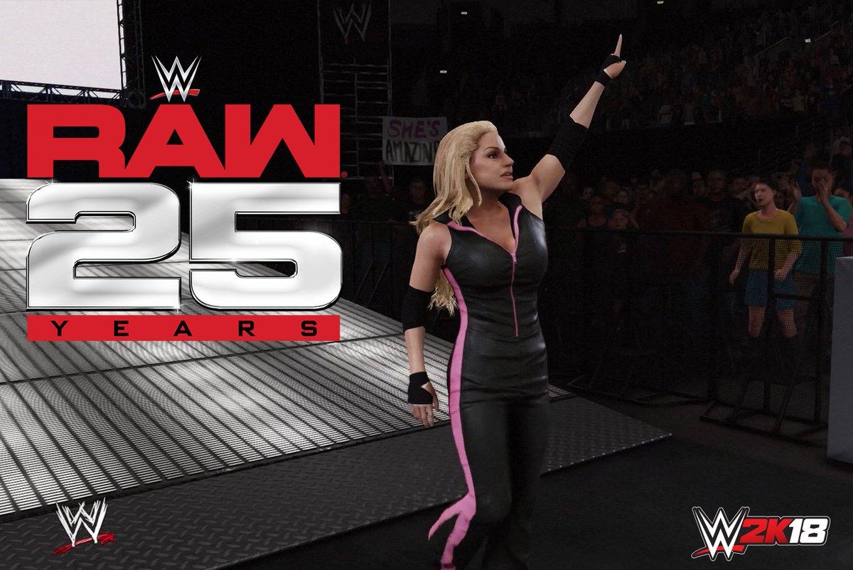 RT @WWEgames: Tune into #RAW25 tomorrow for some Stratusfaction! @trishstratuscom #RAW @WWE https://t.co/LkmYpUdA3x