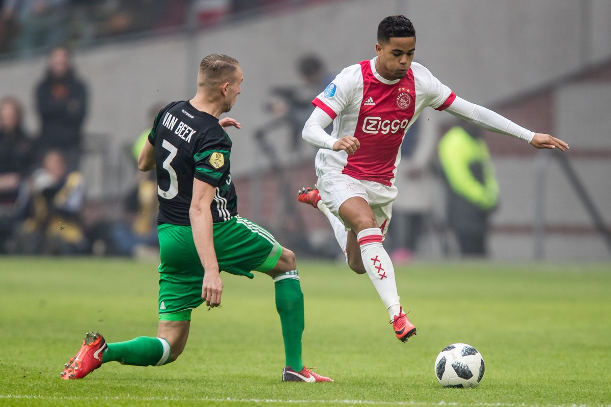 test Twitter Media - JK45 = 🏃‍♂️💨⚡️  #Klassieker #ajafey https://t.co/DB48mI3y0U