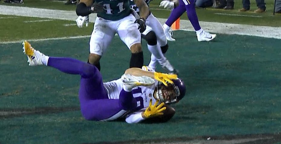 The Vikings had it ... and then they didn't. ��♂️ https://t.co/Z4NuBK7atq