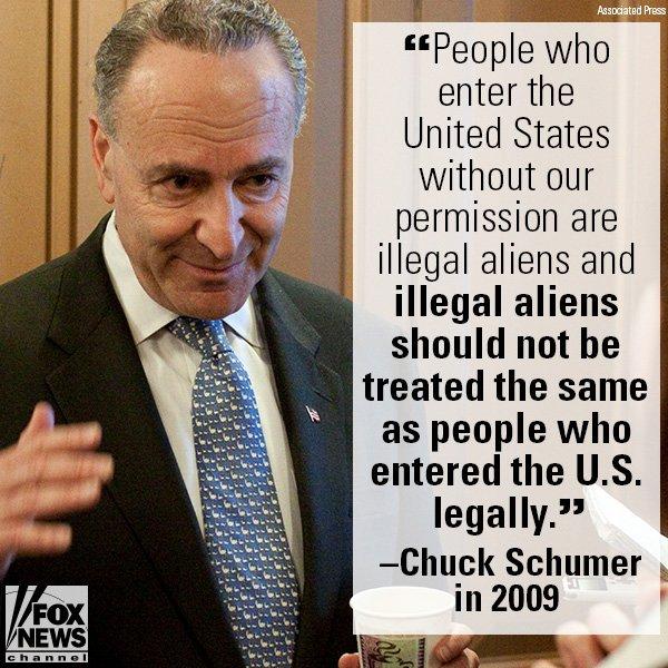 .@SenSchumer on illegal immigrants in 2009. https://t.co/2KfJDr32e0 https://t.co/oAktBKmSa2
