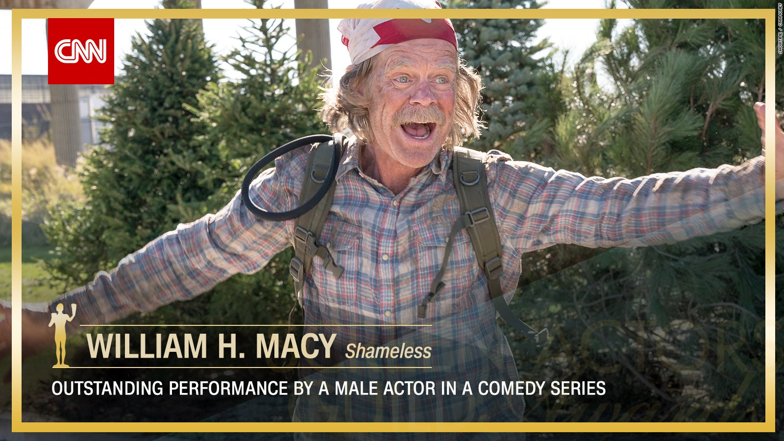 William H. Macy wins Outstanding Performance by a Male Actor in a Comedy Series. https://t.co/RyIMMFLDsS #SAGAwards https://t.co/ZoErMPqoAV