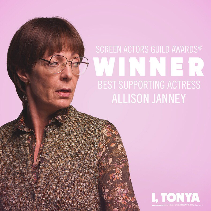 Allison Janney wins Outstandin itonya