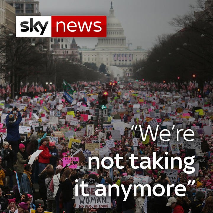 Thousands have marched across the world taking par