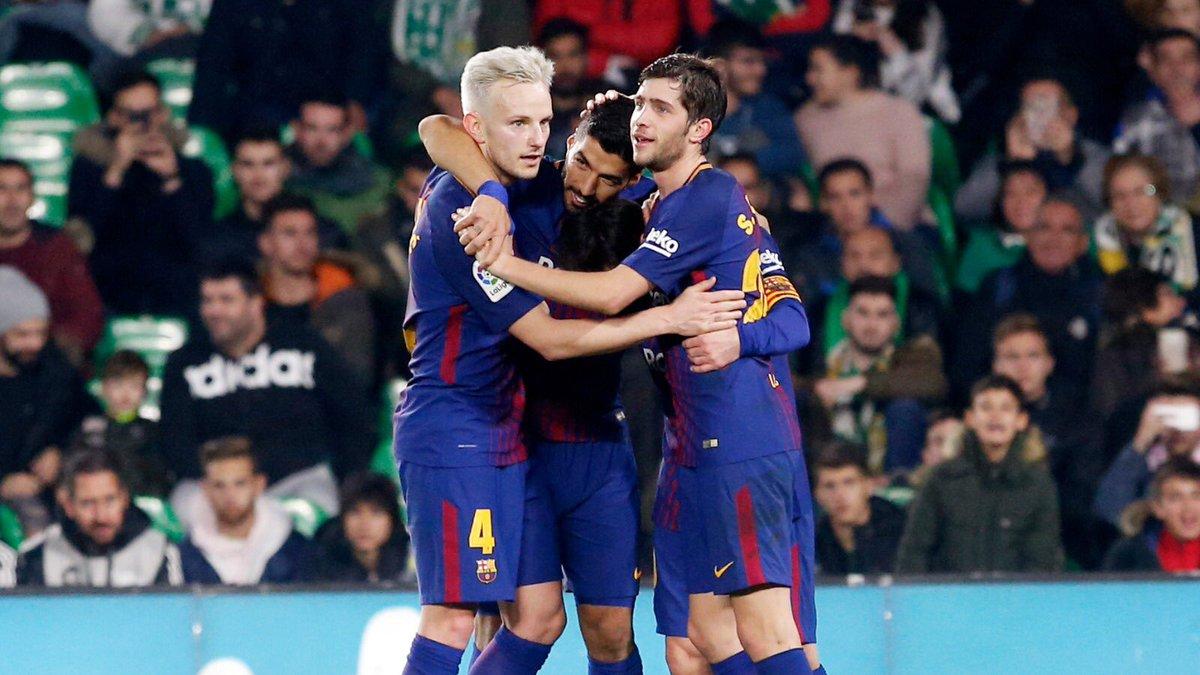 RT @SergiRoberto10: Importante victoria! Partidazo del equipo! Força Barça 🔴🔵!! https://t.co/bg8195KJBg