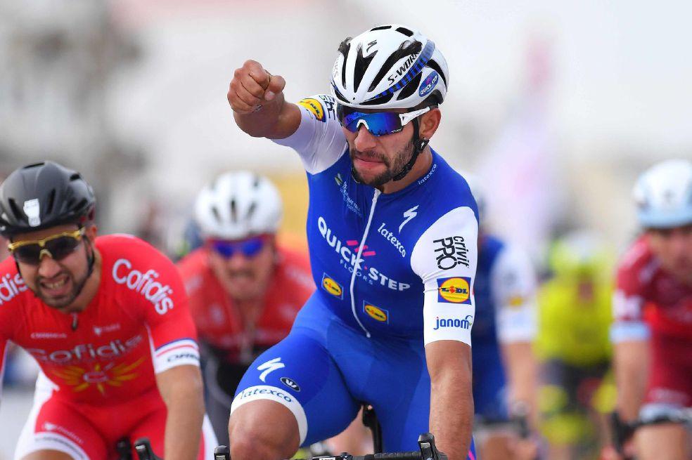 Fernando Gaviria ganó la primera etapa en la Vuelta a San Juan. https://t.co/HiimvoIzCT https://t.co/qGL03zVkDO