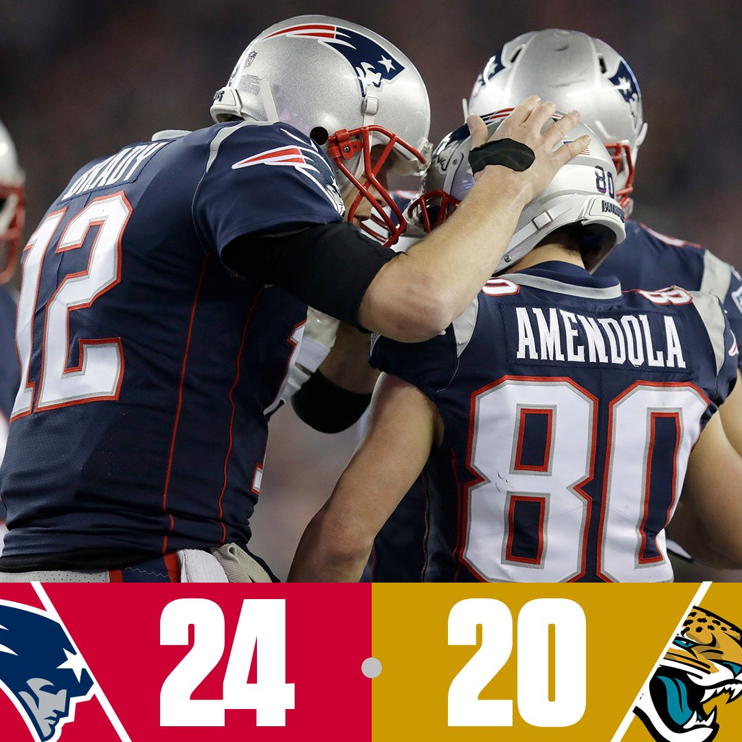 The Patriots are headed to the Super Bowl! https://t.co/E1GuPcKWll