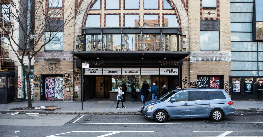 Sunshine Cinema, a Beloved Manhattan Theater, Goes Dark
