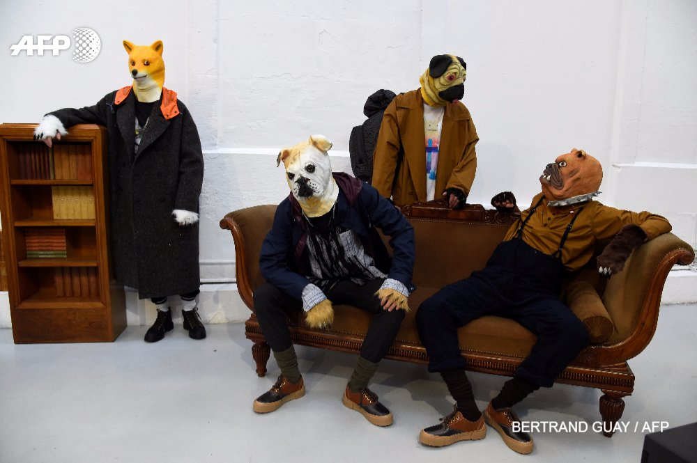 Uggs, pigs and tartan: the big trends at men's Paris fashion week