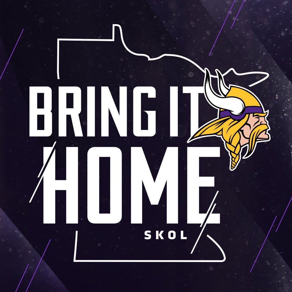 Go Vikings!  #BringItHome https://t.co/EroCtRXBmL