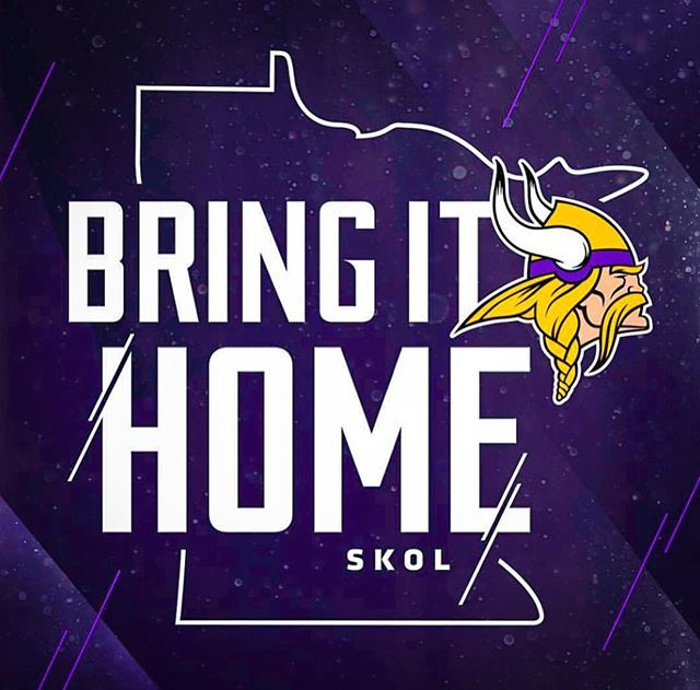 Let's go #Vikings! #BringItHome #SKOL #BoldNorth 🏈 https://t.co/jteb1rikOK https://t.co/ImnFeMLZwU