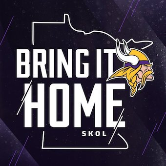 GO #Vikings #SKOL SKOLLLLLLL!  #BringItHome https://t.co/NtN28PSDo7