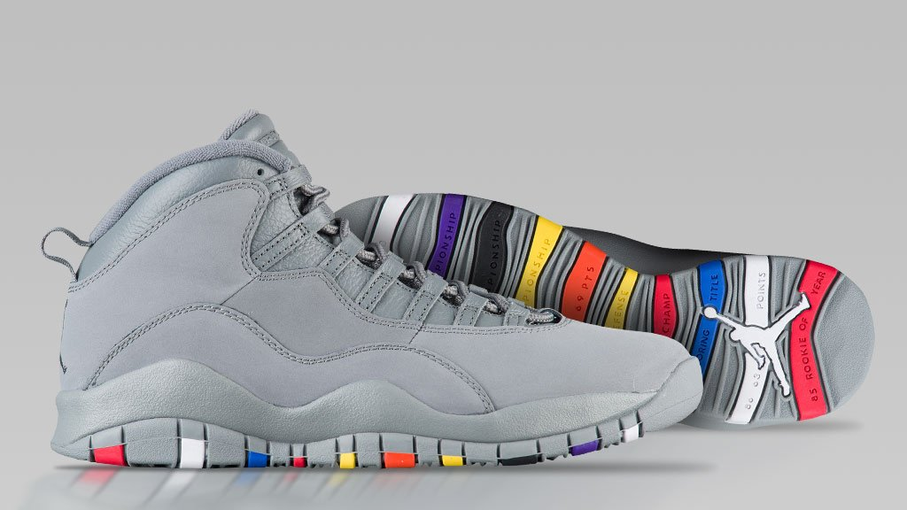 3b977e321402c9 xxiii years of x celebrate with a new colorway the jordan retro 10 cool  grey arrives