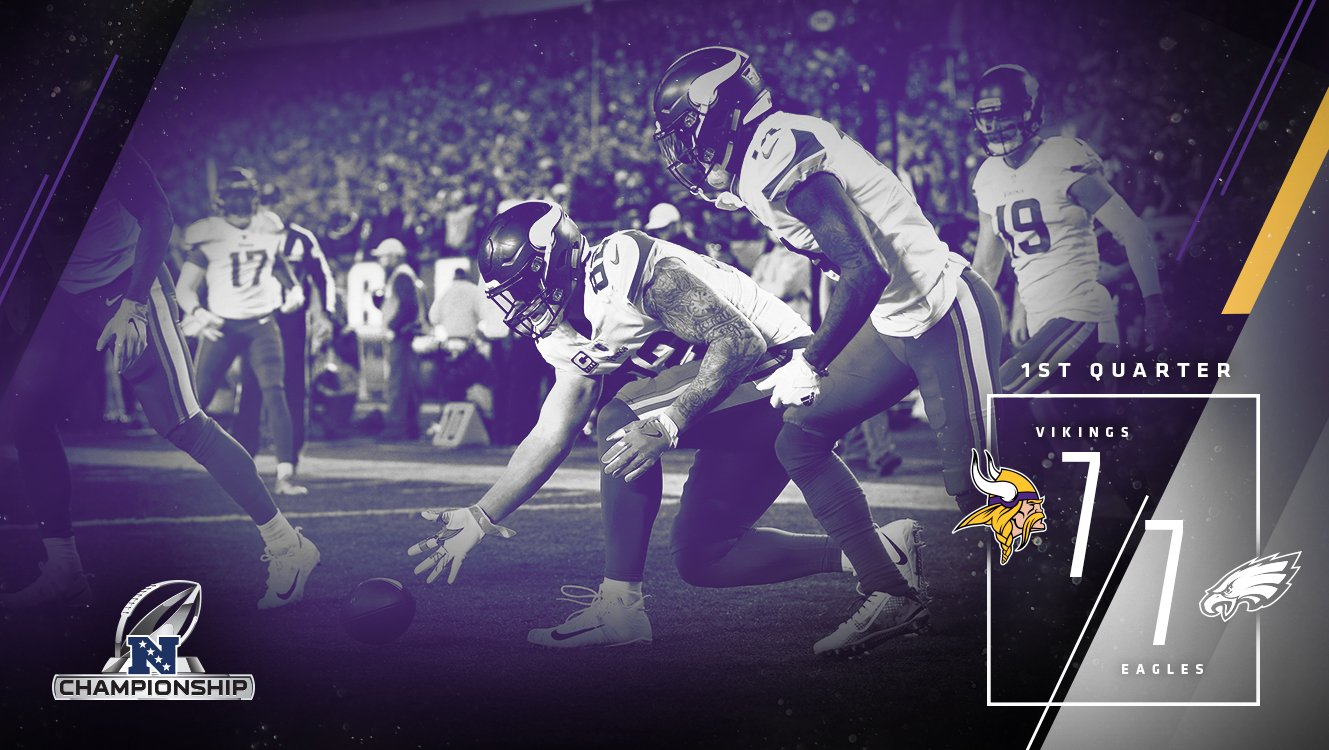 We're tied at 7 after the 1st quarter.  #BringItHome https://t.co/cTse8ekQ64