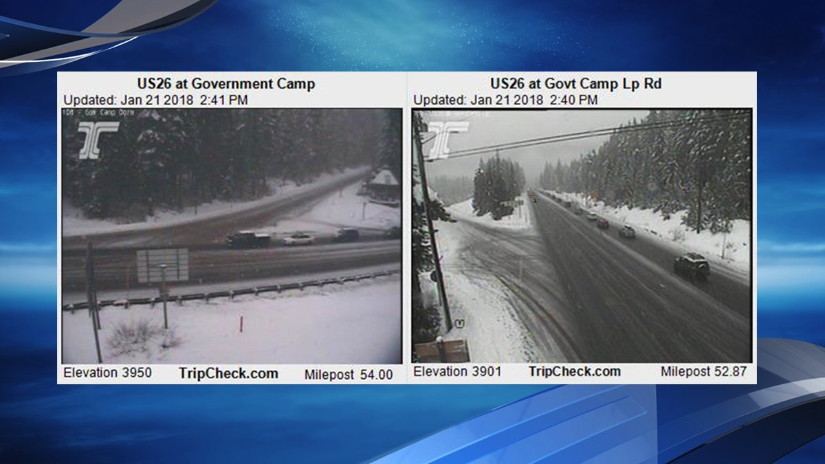Storm brings snow to Cascades, Winter Weather Advisory issued