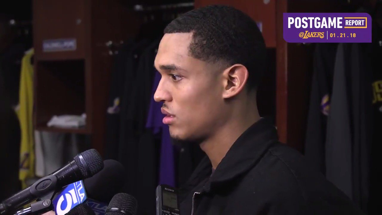 �� Jordan Clarkson talks about playing with Alex Caruso, and the defensive focus in the second half https://t.co/hBEDryA1bC