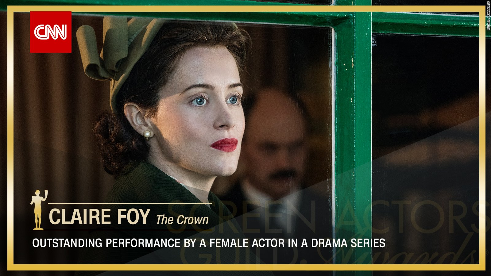 Claire Foy wins Outstanding Performance by a Female Actor in a Drama Series. https://t.co/cPly9Wzl8b #SAGAwards https://t.co/aSlYEbos7Y