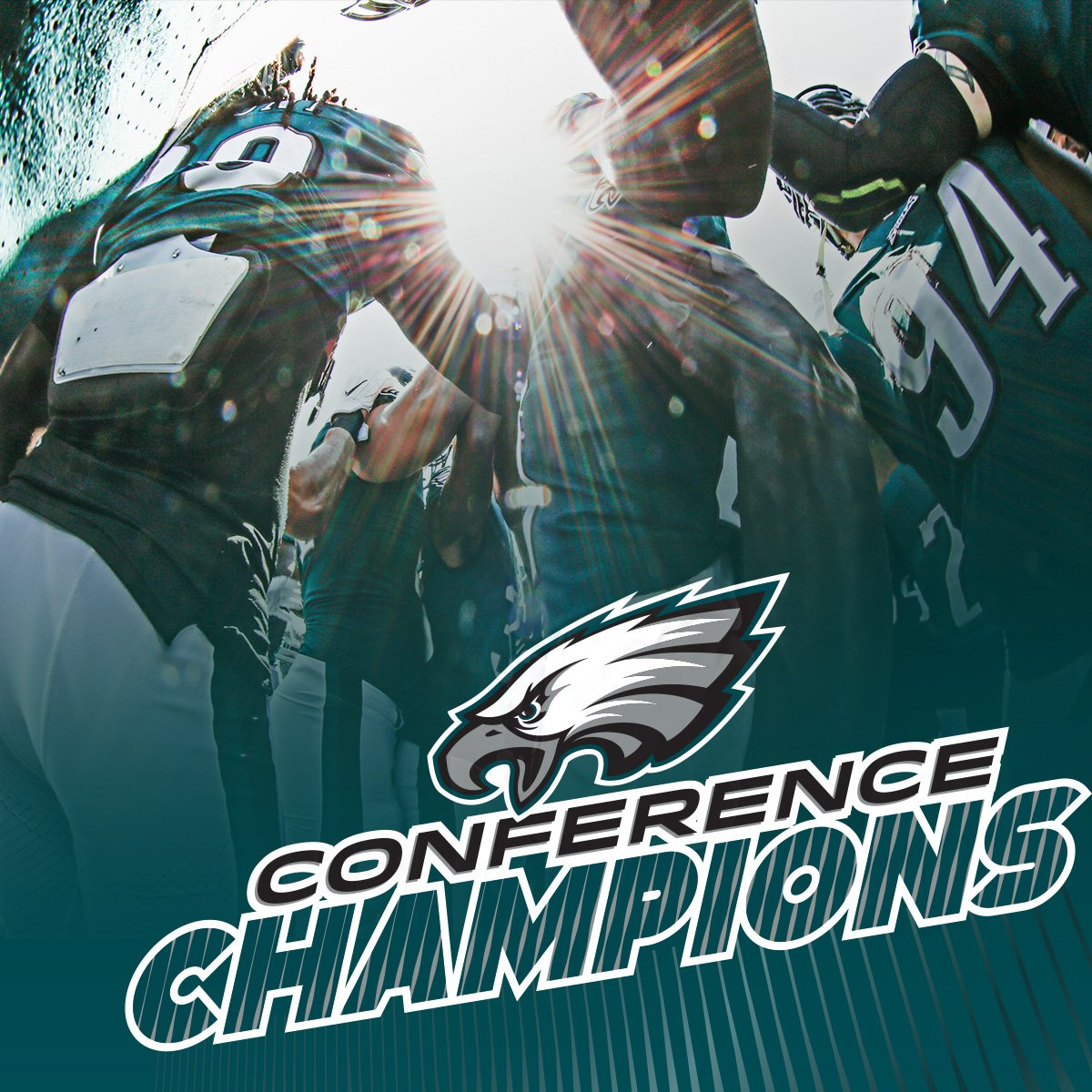 NFC CHAMPS!  #FlyEaglesFly https://t.co/ixTyxVRpcg