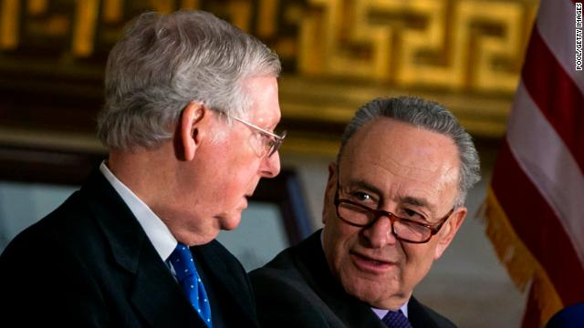 The Senate will vote on ending the government shutdown at noon Monday https://t.co/d8RlPzwBfa https://t.co/YVPNGussjs