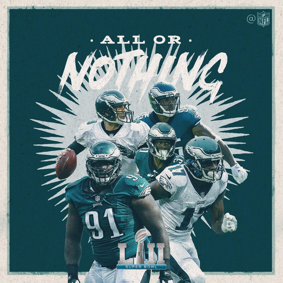 Philadelphia @Eagles = NFC CHAMPS! #FlyEaglesFly #SBLII https://t.co/AVnk0lzvNy