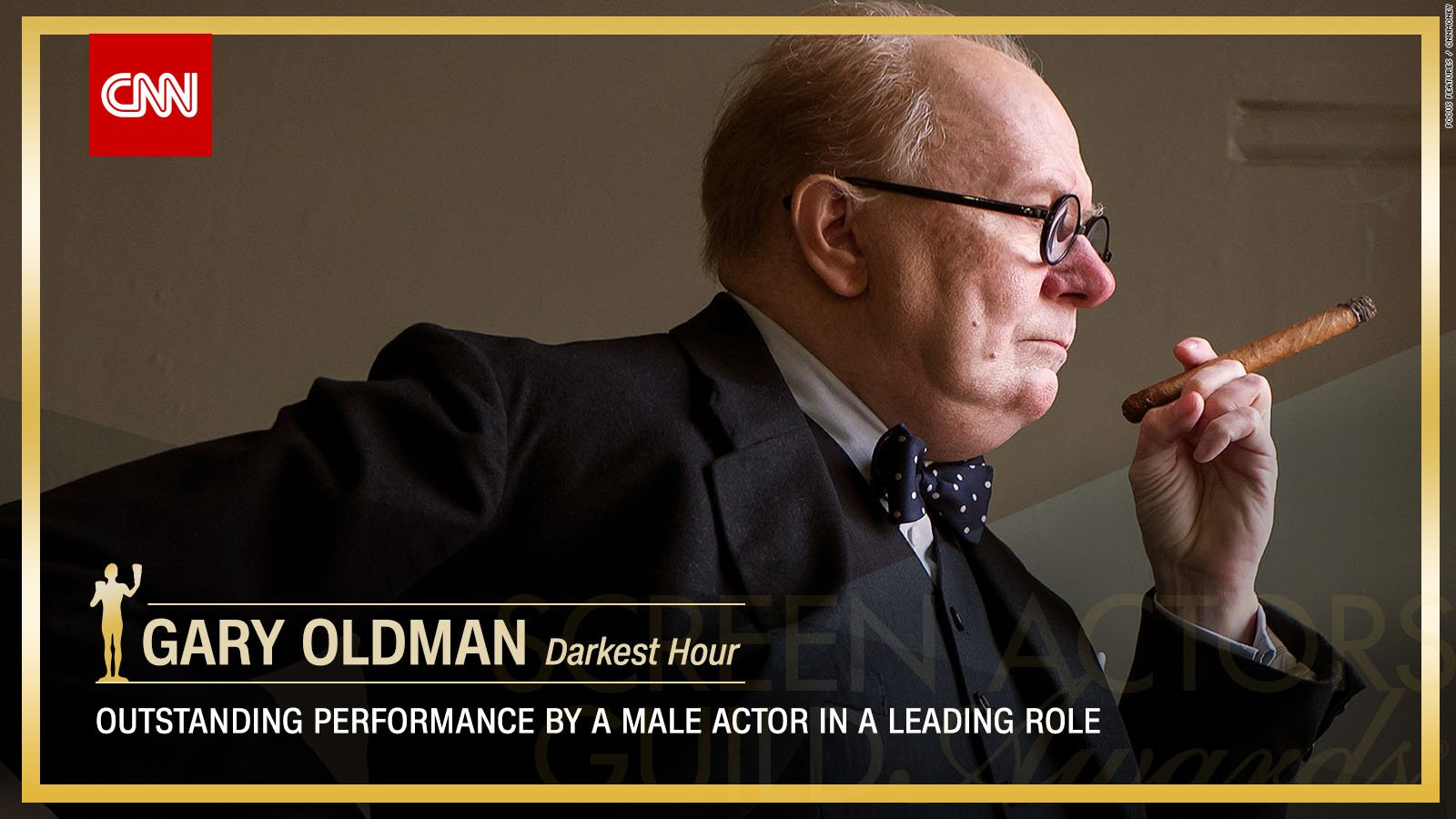 Gary Oldman wins Outstanding Performance by a Male Actor in a Leading Role. https://t.co/cPly9Wzl8b #SAGAwards https://t.co/ixoZxgSplC