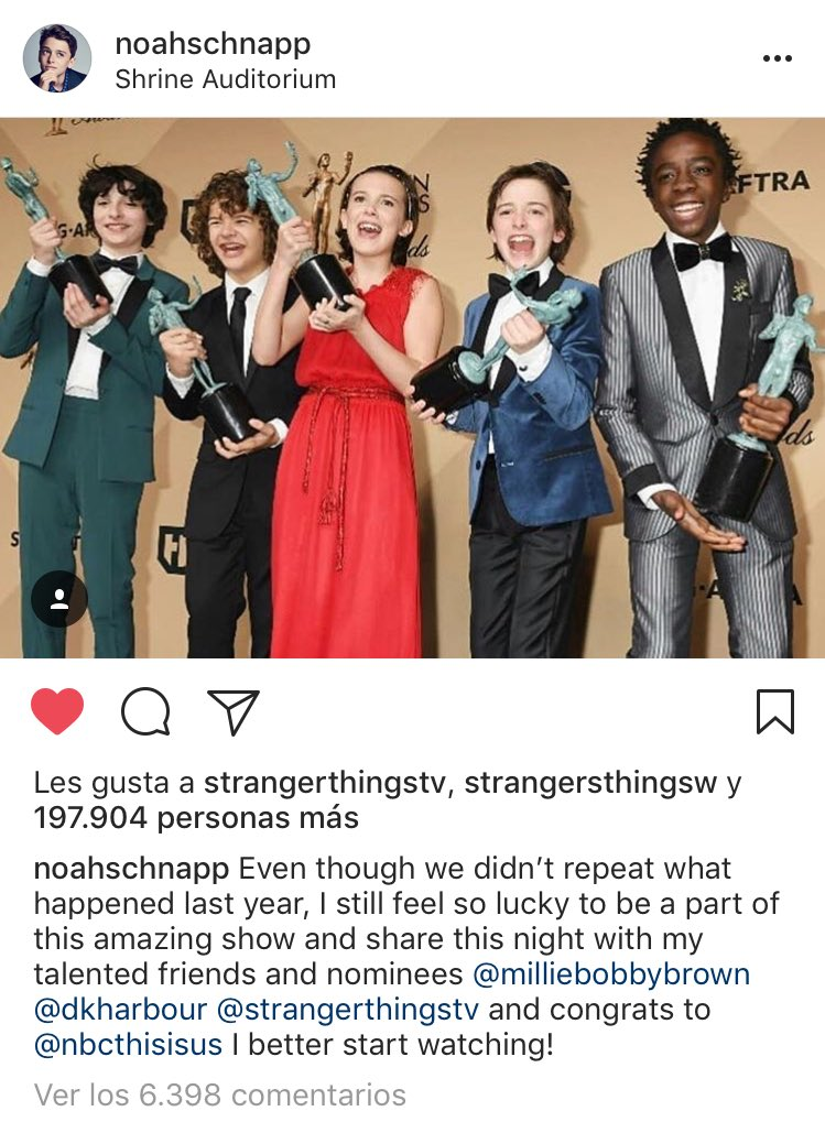 Mentira que no ganaron...   #SAGAwards https://t.co/omeQyj5uR3