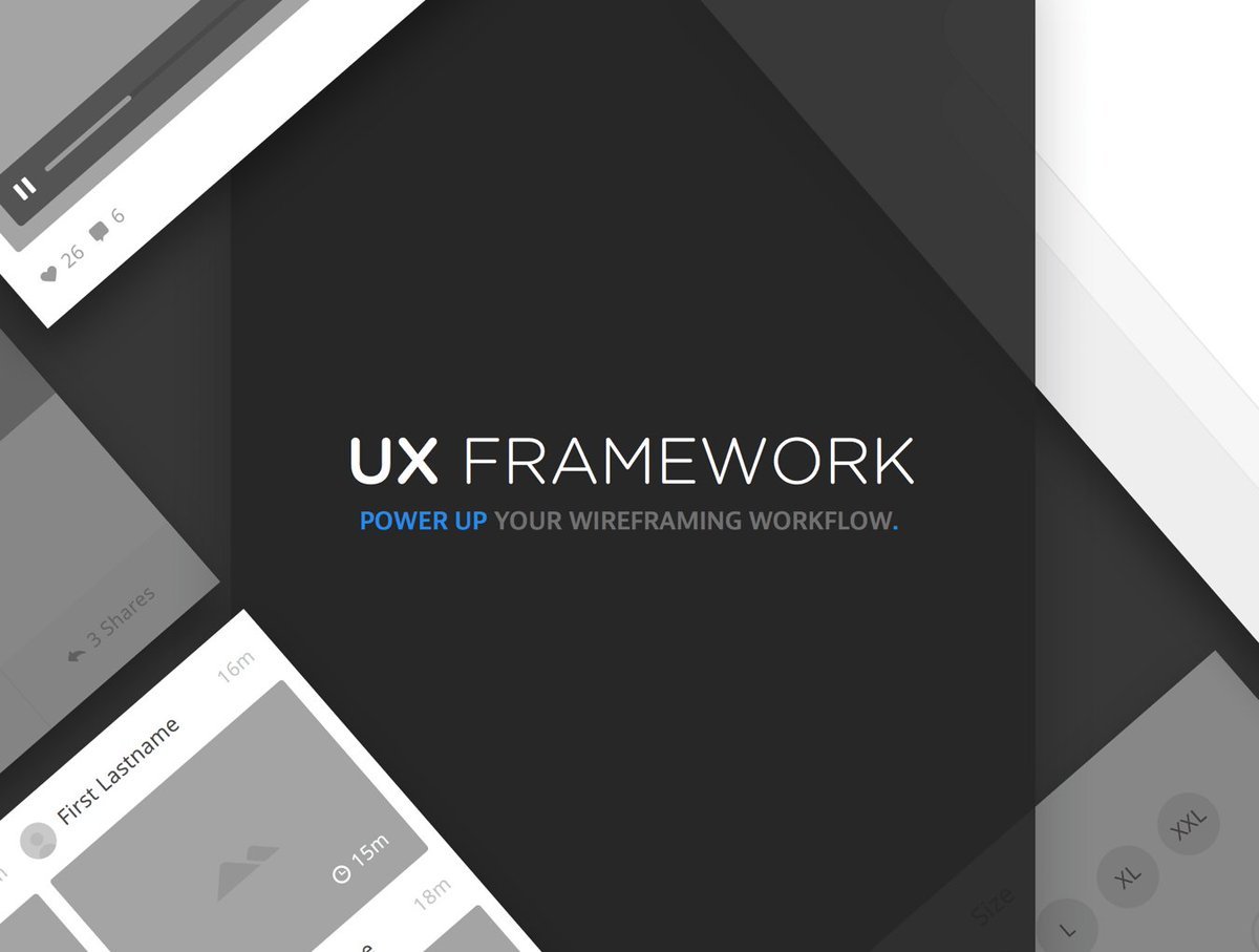 UX Framework. Your wireframing workflow on steroids.https://t.co/3Rwv8PDYHc https://t.co/FHAwSSYyFT