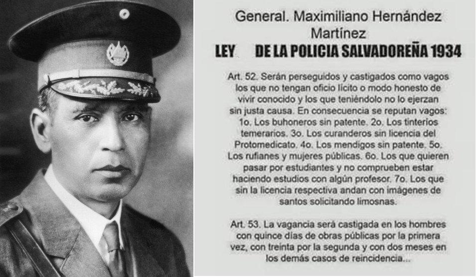 RT @EShistoria32: Ley de la policía salvadoreña, 1934 https://t.co/BW4cWE46bd
