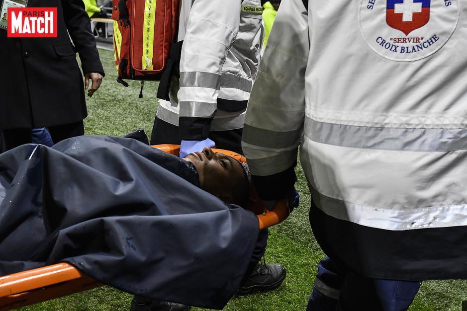 Kylian Mbappé : grosse frayeur sur le terrain