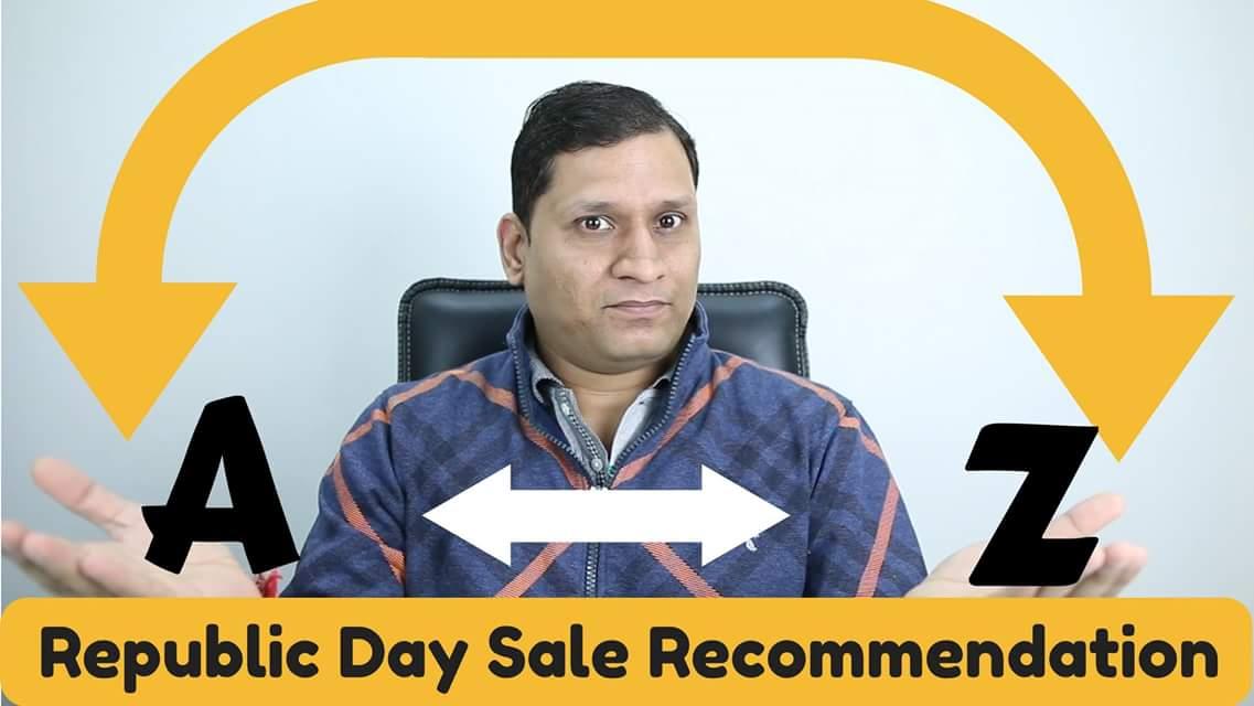 Republic Day Sale Recommendation | #AskSharmaji https://t.co/Xb3a5b6CKE https://t.co/ouwNBc7Ypu