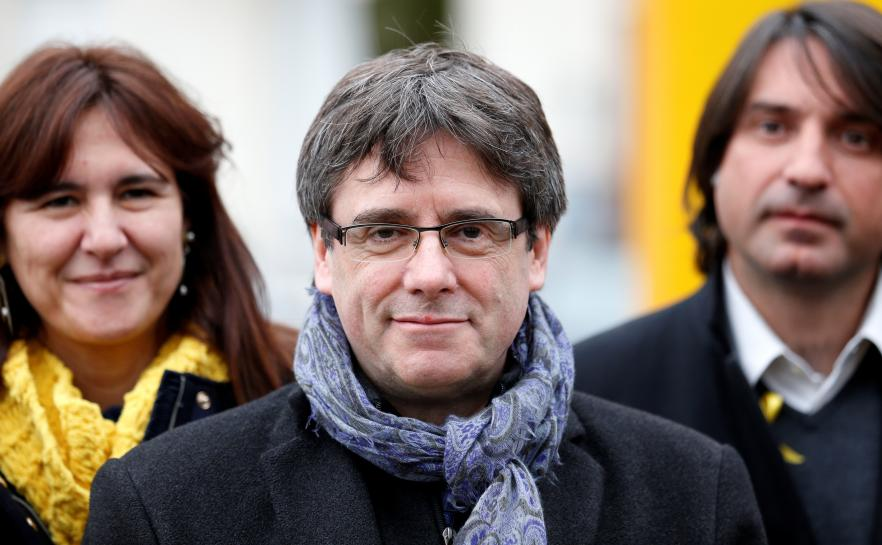 Catalonia's Puigdemont lands in Denmark as Spain seeks new warrant https://t.co/NCMcehiaNV https://t.co/AiqWIbtHP9