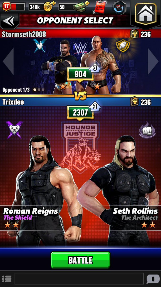 This guy was so outmatched by my Seth and Roman 😂😂 https://t.co/Ne1CsamIfp