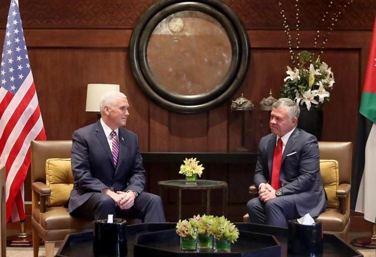 Jordan urges Mike Pence to 'rebuild trust' after the Trump administration's Jerusalem pivot https://t.co/PokK1DkONF https://t.co/xzWWWiCvuo