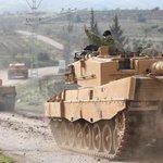 Turkish ground troops enter Syria enclave