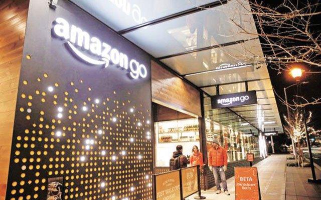 Amazon opens a supermarket with no checkouts