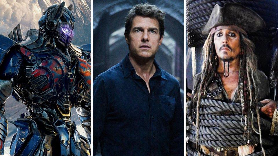 Razzie Awards: Transformers, 'Fifty Shades Darker,' TheMummy top nominations