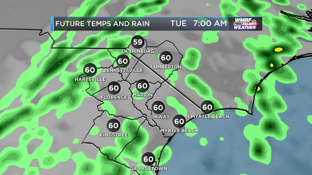 FIRST ALERT: Spring-like warmth and quick-hitting showers