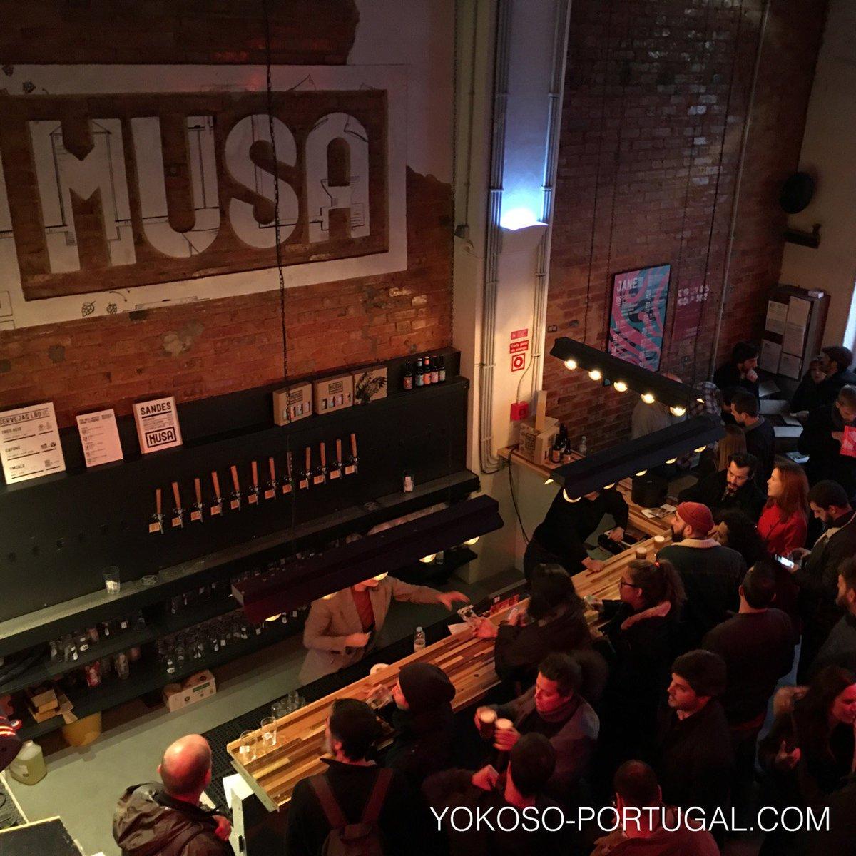 test ツイッターメディア - リスボンのクラフトビールのブルワリー。できたてビールは格別です。近くに他2件あり、飲み比べも楽しいです。 (@ Fábrica Musa in Lisboa) https://t.co/wFKvU1iVsx https://t.co/KMu8FZ61Jc