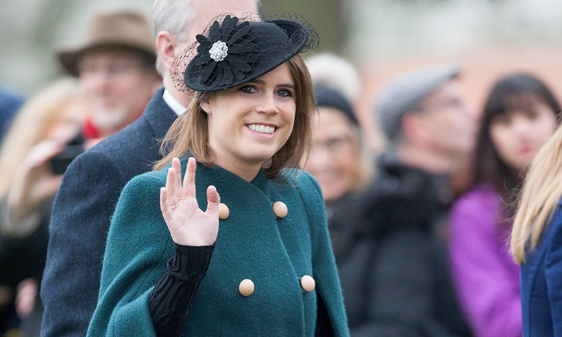 Princess Eugenie and the Queen are style twins at Church