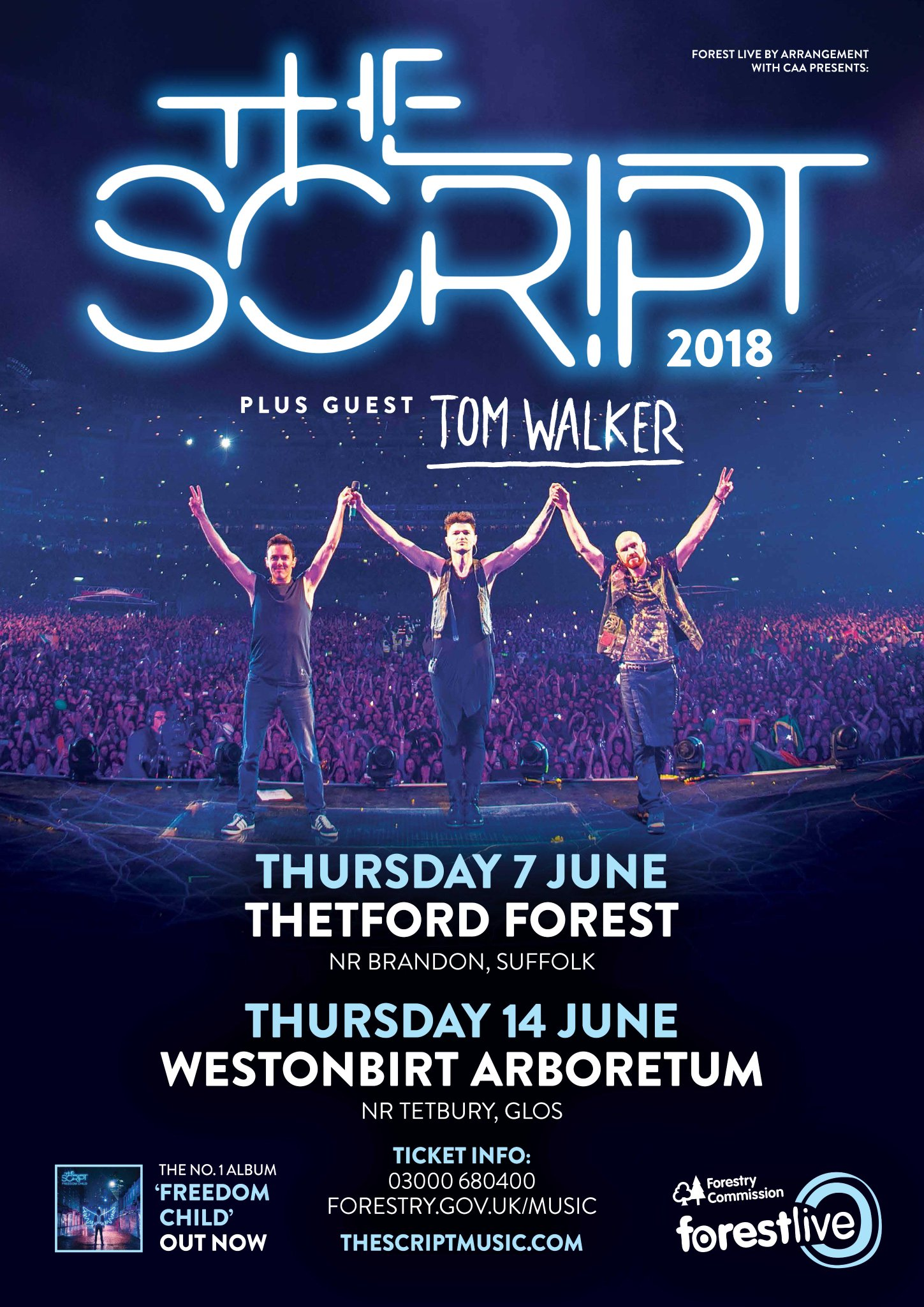 UK! We'll be bringing our good friend @IamTomWalker to support us at our Forest Live shows in June! https://t.co/GIYx0jtqQw