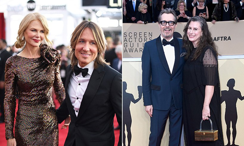 Love was in the air at the 2018 SAG Awards! Click to see the sweetest celebrity couples: