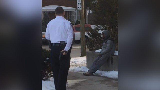 'Facts matter': Police offer explanation after picture of officer goes viral