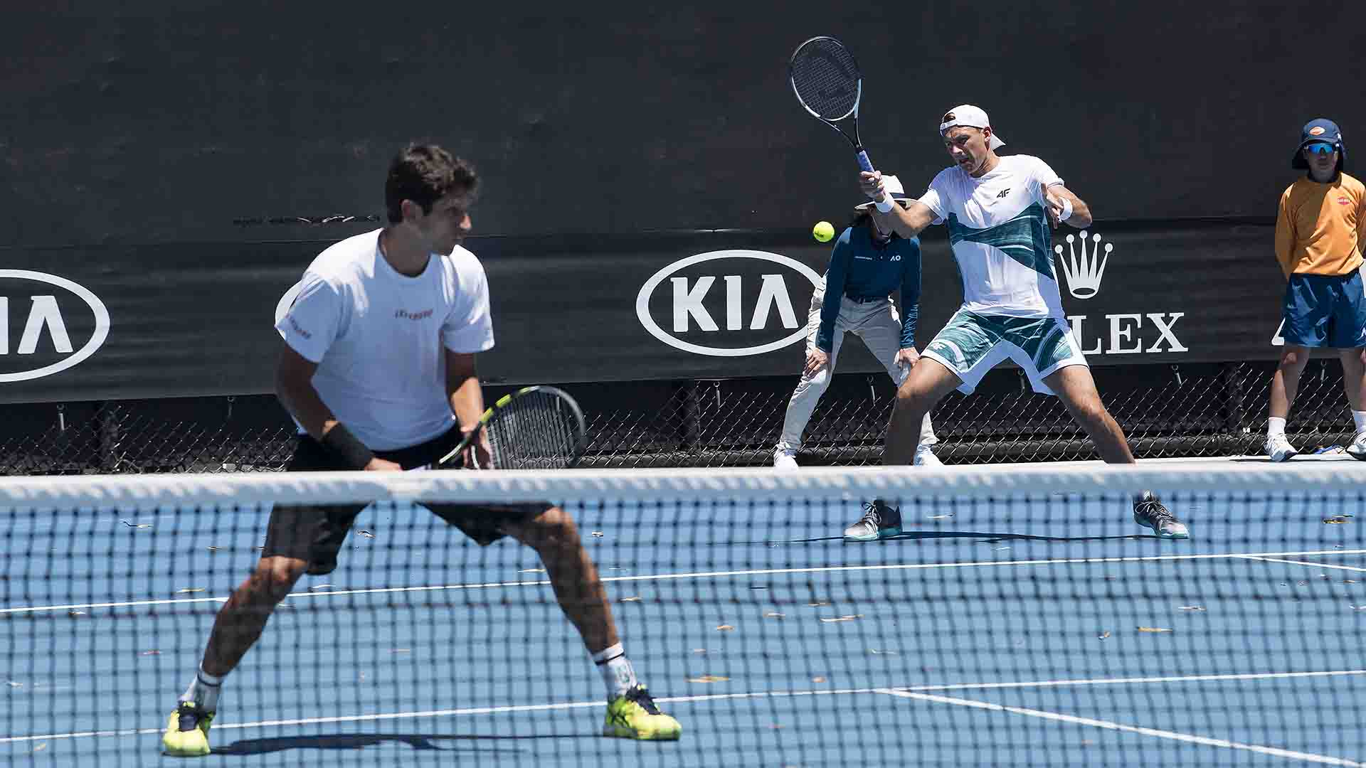 Top seeds Melo/Kubot come from behind to reach the last eight at the #AusOpen.   ➡️ https://t.co/O1VR70rBDc https://t.co/At2D2HKxvO