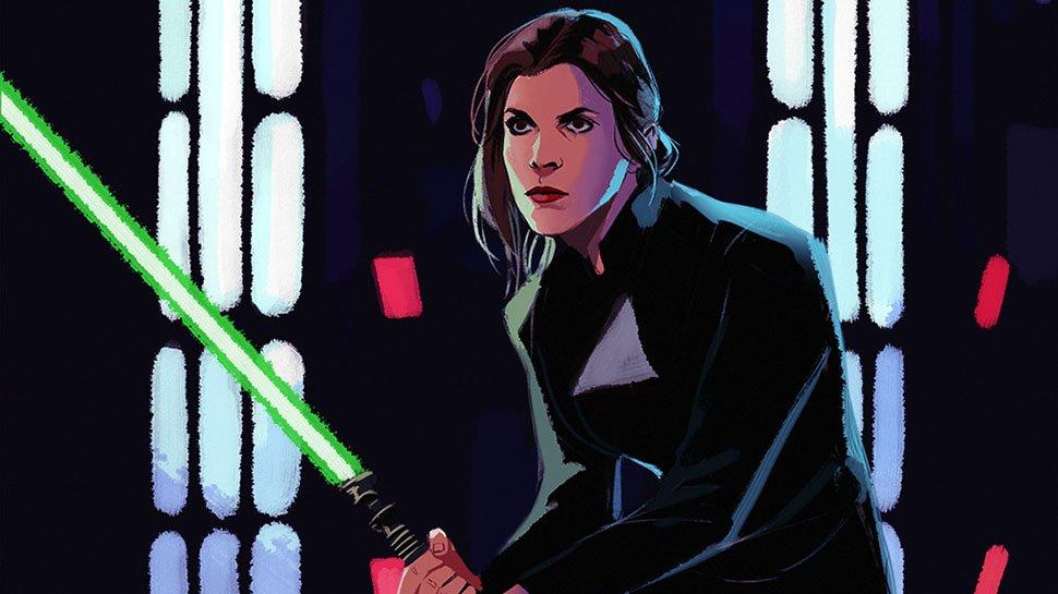 Luke and Leia swap roles in this #StarWars fan art: https://t.co/J1TdGzaptm https://t.co/aSWyzrbZOX