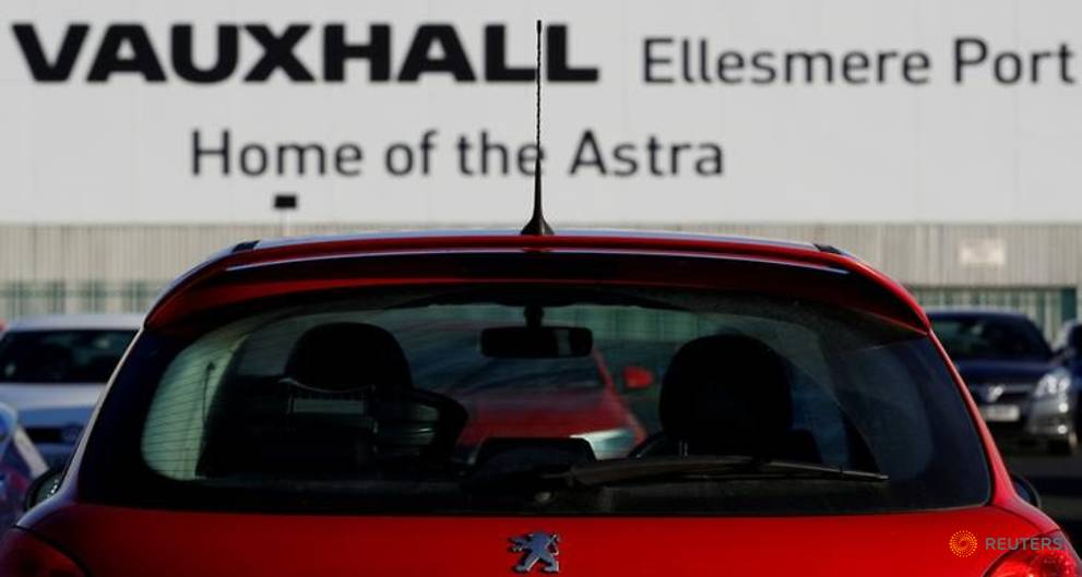 Peugeot to continue Vauxhall recovery plan after talks with UK union