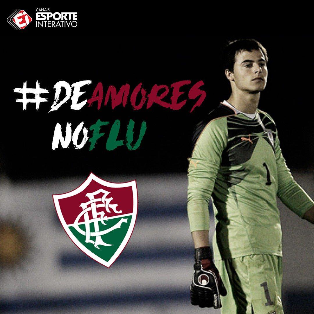 OFICIAL! O @FluminenseFC anunciou a contratação do goleiro uruguaio Guillermo De Amores! #DeAmoresNoFlu https://t.co/80XsoFuga5