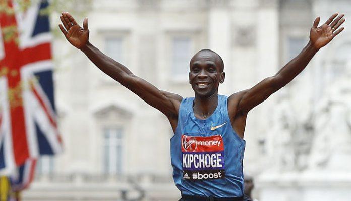 Fierce competition awaits Kipchoge at London marathon