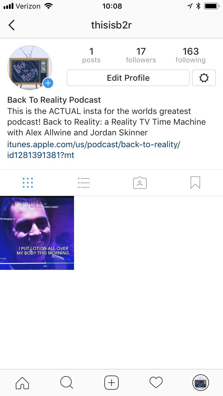 In case you missed it. We have an Instagram.... it's about to get even weirder #b2r #podcast #FearFactor #midseason https://t.co/m8Y4zXA1EM